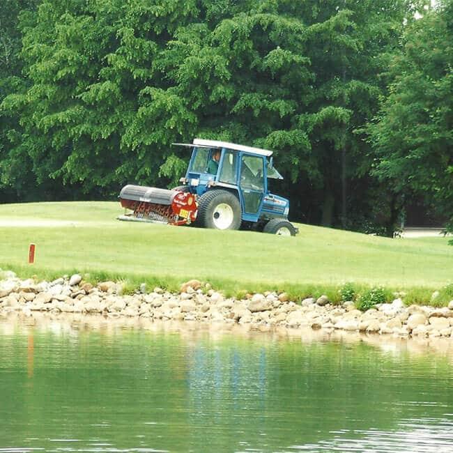 Golfplatzpflege